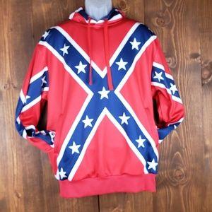 Confederate flag hoodie